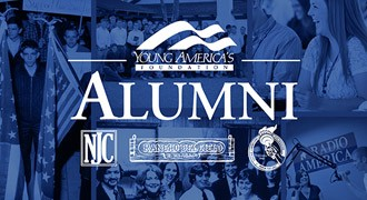 Take advantage of  Young America's Foundation Alumni Opportunities. Millions have been impacted by our programs since our founding in 1960.  [btn]Learn More[/btn]