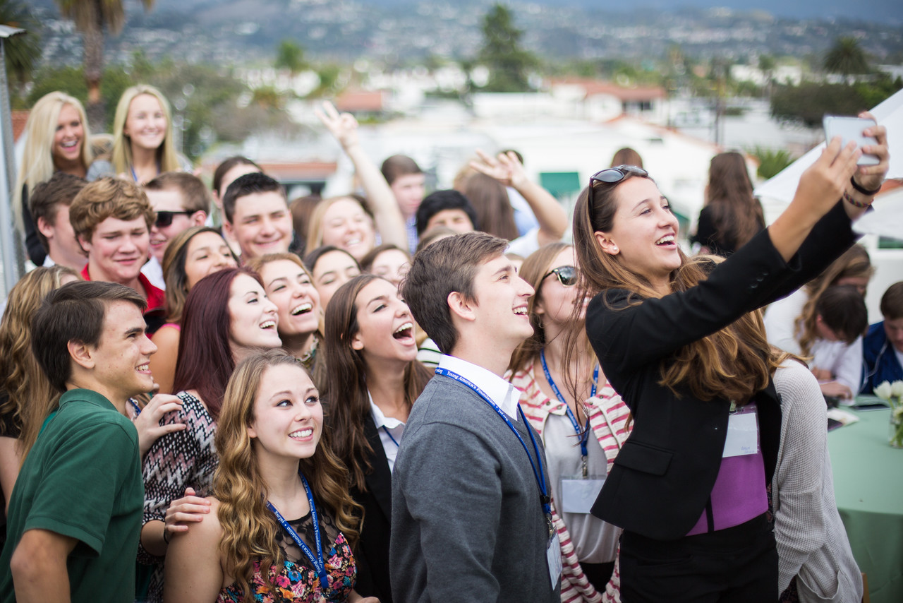Ranch Rooftop Selfie
