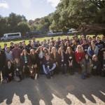 Student group at Reagan Ranch 2012