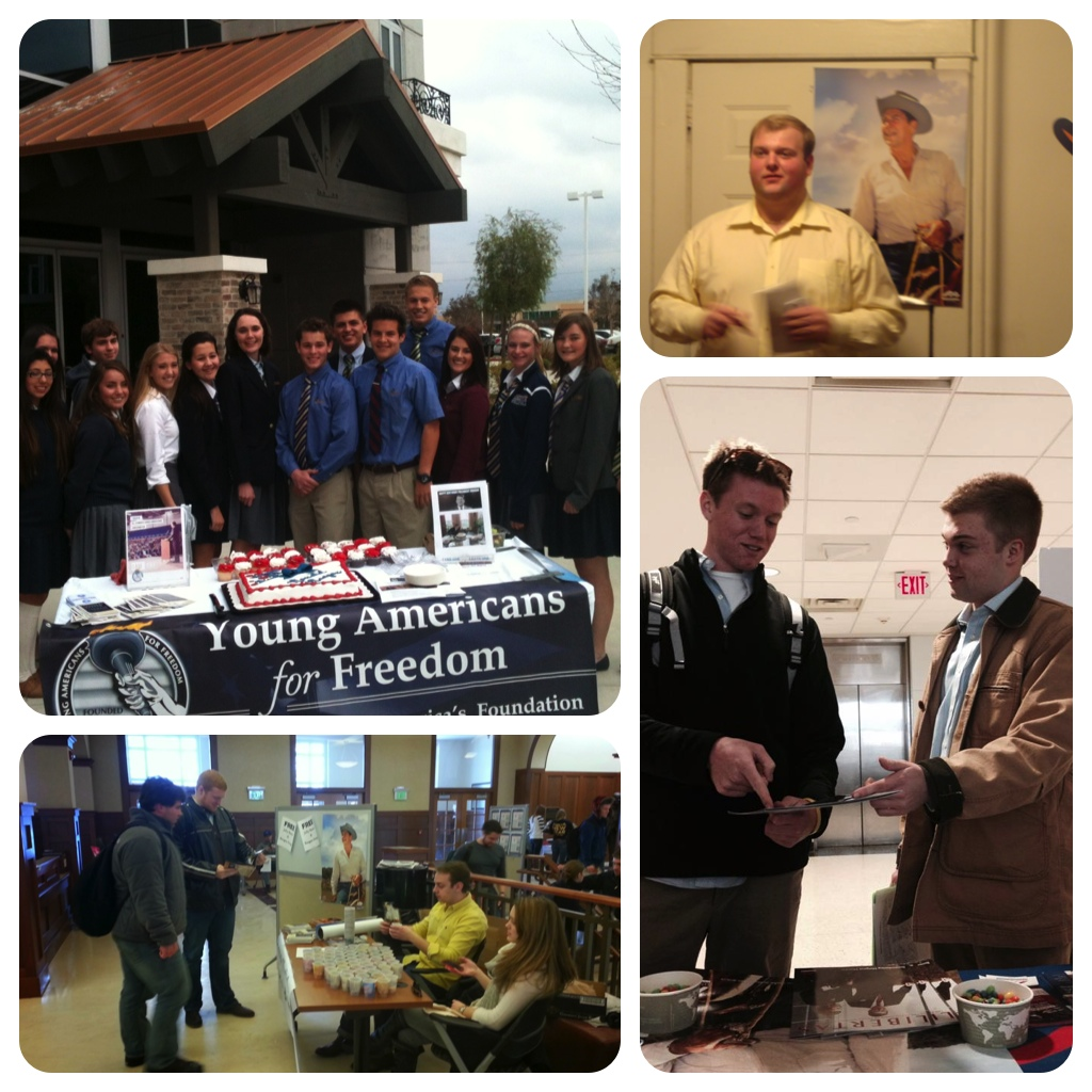 YAF Reagan Birthday