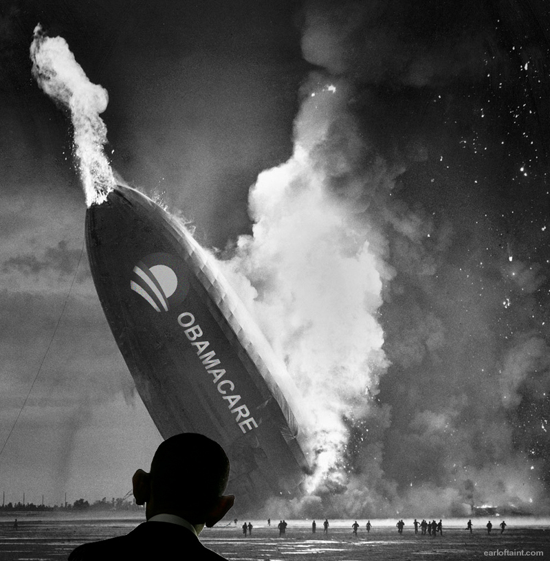 Blimp Disaster Obamacare