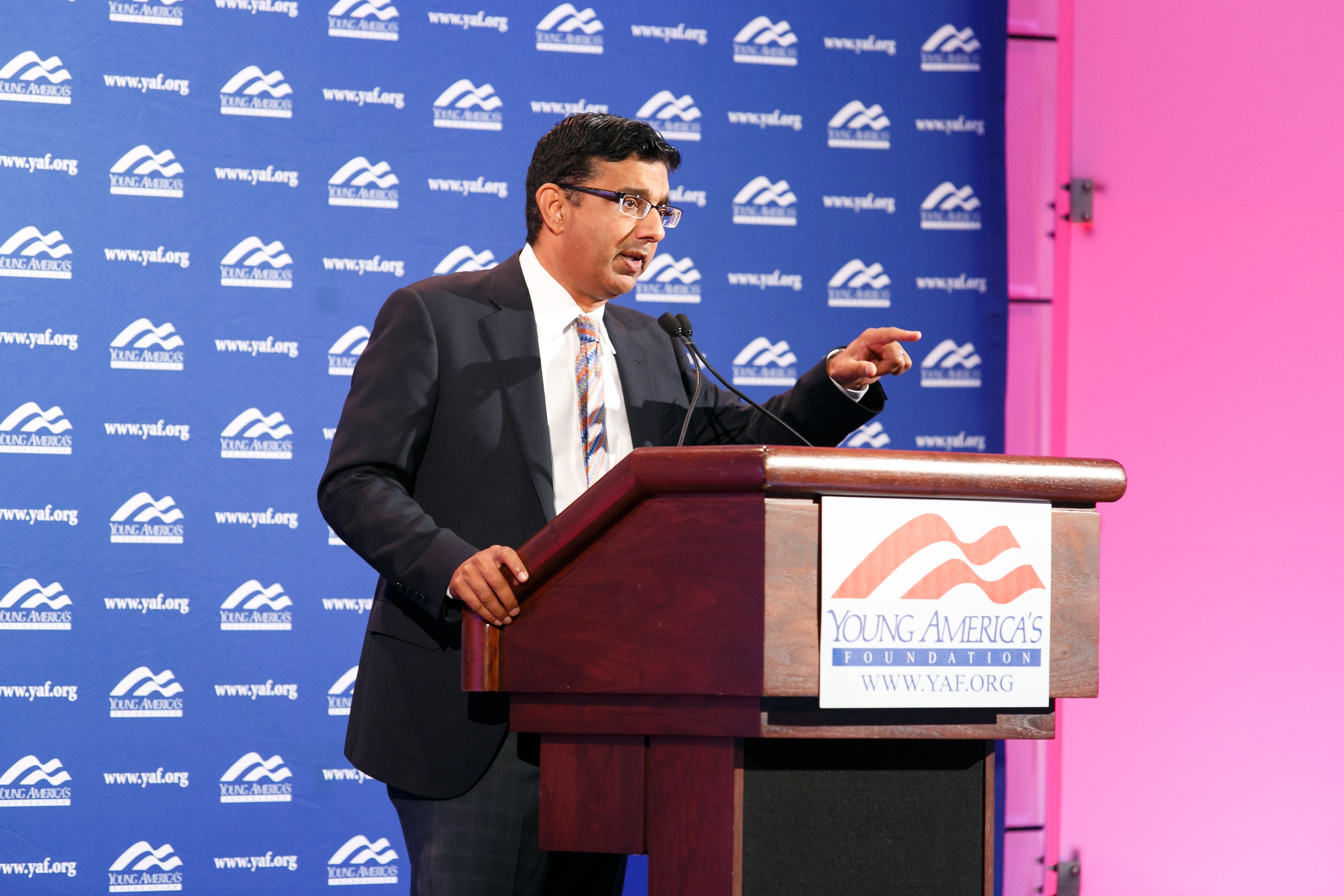 Dinesh D'Souza And YAF Partner Exclusively To Bring Conservative Ideas To America's Embattled Campuses