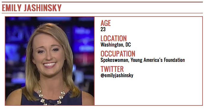 Jashinsky 30 Under 30