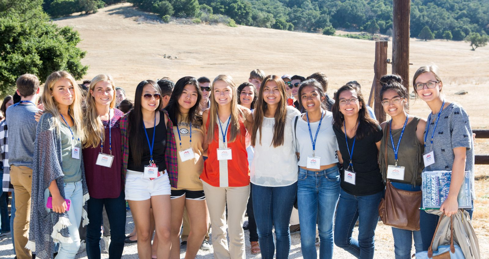 "<span style=""font-weight:bold;"">Watch the LIVE STREAM at the<br> Reagan Ranch <br>High School Conference<span>"