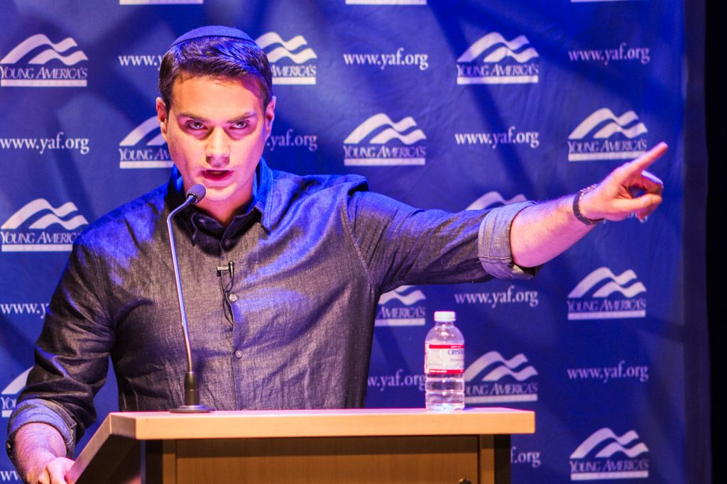 """<span style=""""font-weight:bold;"""">Ben Shapiro<br>Recorded Live <br>from the Reagan Ranch Center<span>"""