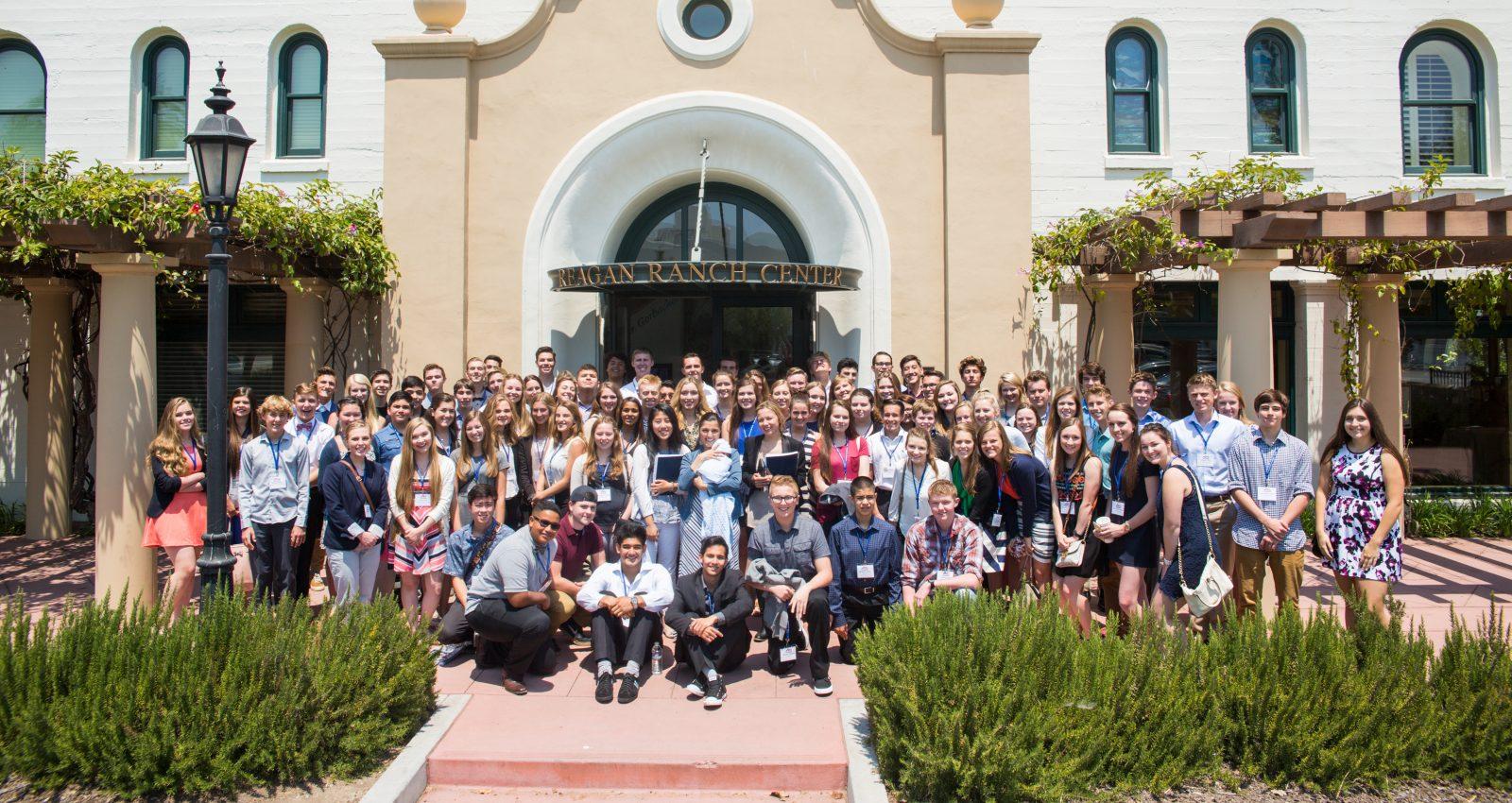 <b>High School Conference at the Reagan Ranch</b>
