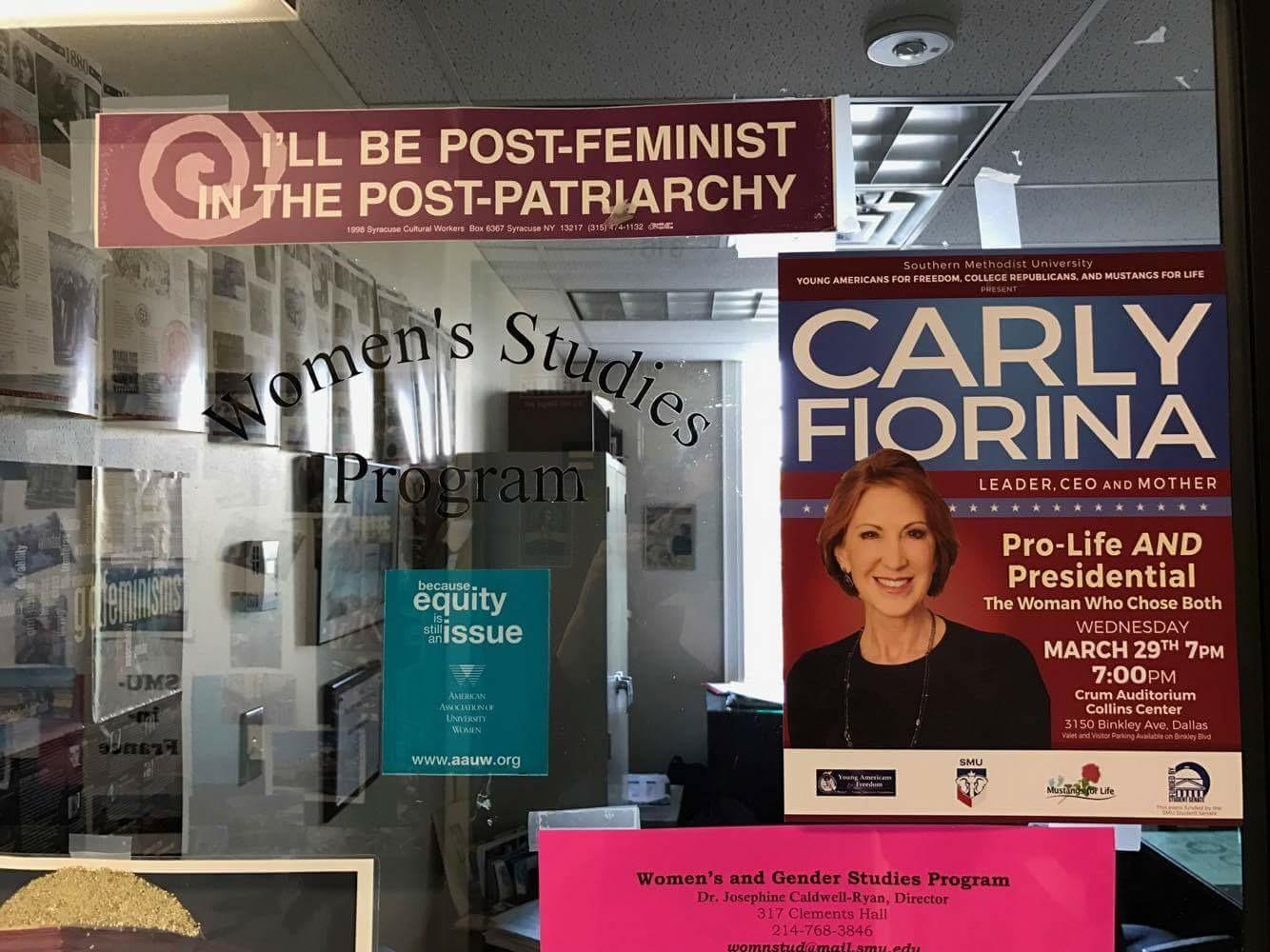 Carly Fiorina Women S Protest