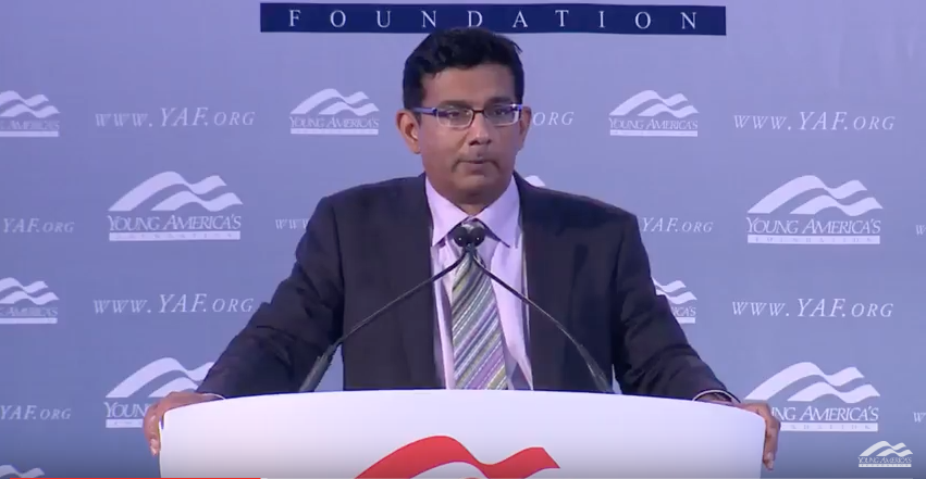 <strong>Dinesh D'Souza <br>at the University of Memphis</strong>