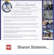 Sharon Statement