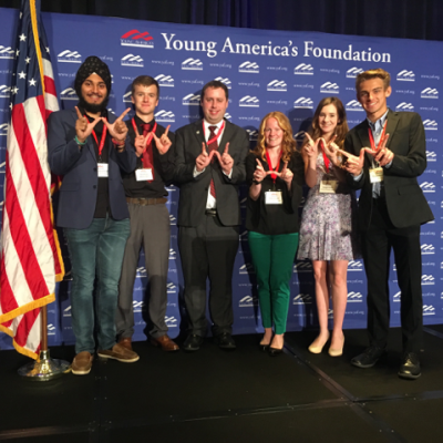 University of Wisconsin-Madison YAF Named Chapter Of The Year