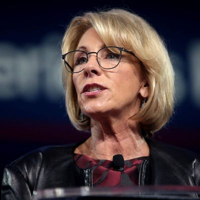 Education Secretary Betsy DeVos Gets It