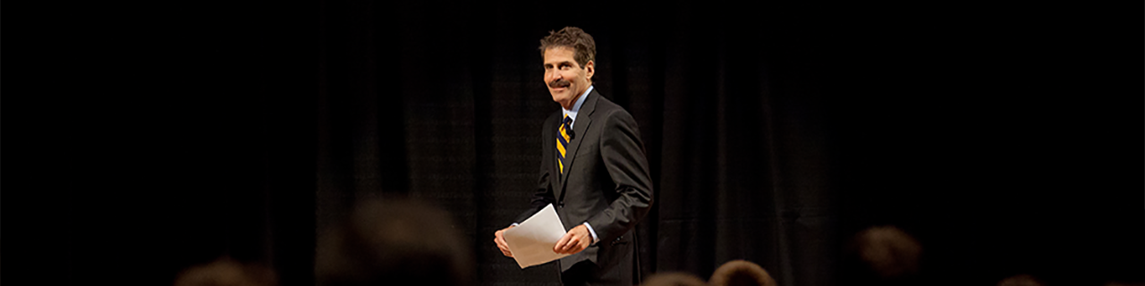 <b>John Stossel <br>Texas Tech University, October 16</b>