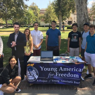 University Of Southern California YAF Named Chapter Of The Month For October