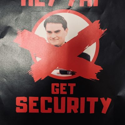 GW Leftists Threaten YAF For Hosting Ben Shapiro: 'GET SECURITY'