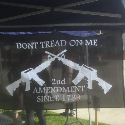 Orange Coast College Bans YAF Chapter's Pro-Second Amendment Flag