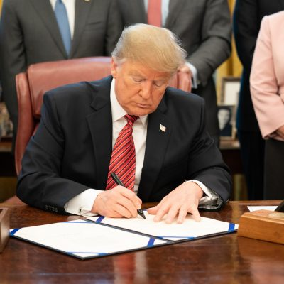 YAF Activists Invited To White House As President Trump Signs Executive Order Building Upon YAF Campus Victories