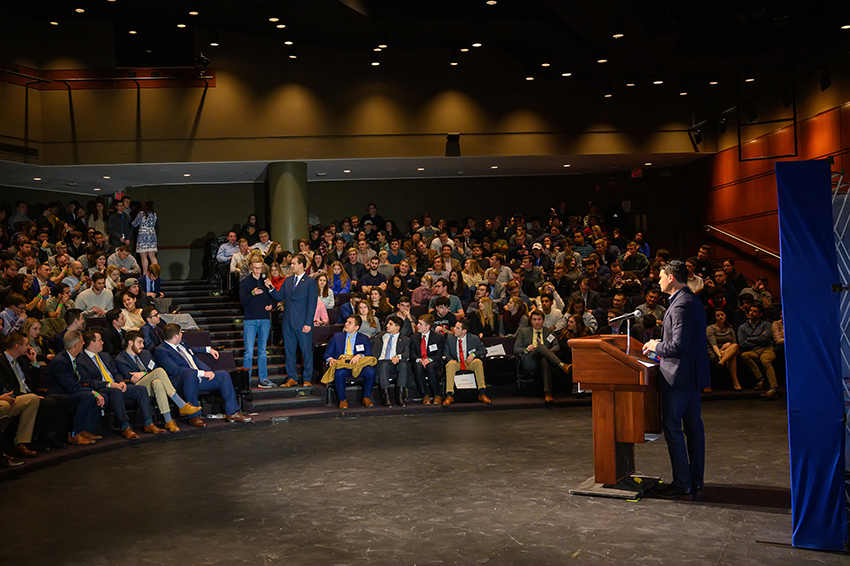 Speaking for YAF is one of the great honors of my life — and it's a blast to see students all over the country and discuss the vision of conservatism with them. ~ Ben Shapiro