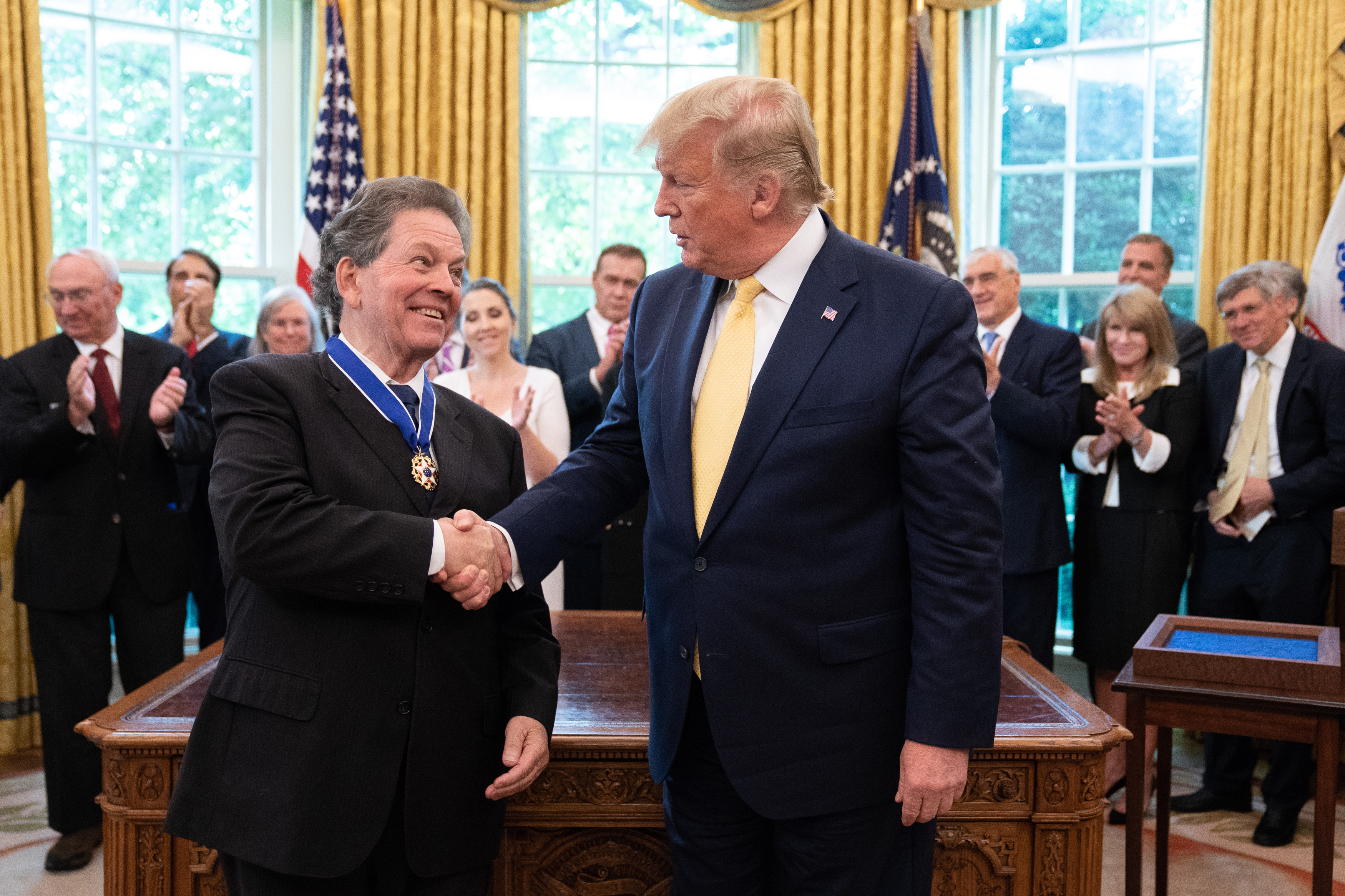 <h1><strong>President Trump Awards Medal of Freedom to Longtime YAF Ally Dr. Arthur Laffer</strong></h1>