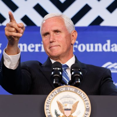'More Than Just A Towering Figure': VP Pence Remembers Rush Limbaugh