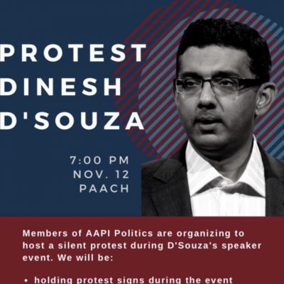 "UPenn Leftists Plan ""Silent Protest"" of Dinesh D'Souza Event"