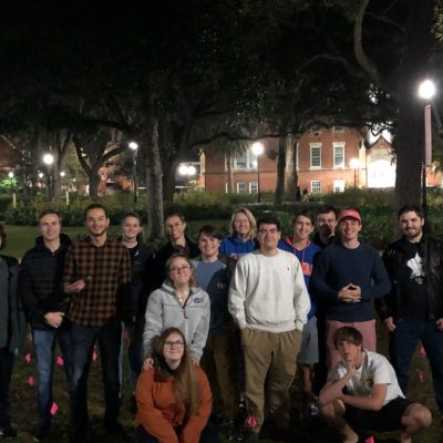 VIDEO: Leftists vandalize pro-life display at University of Florida, confronted by YAF activists