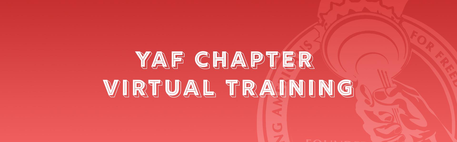 YAF Virtual Training (Regular)