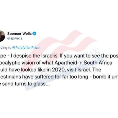 "UT-Austin Professor: ""I despise the Israelis,"" Tweets ""#CatholicismMustDie"""