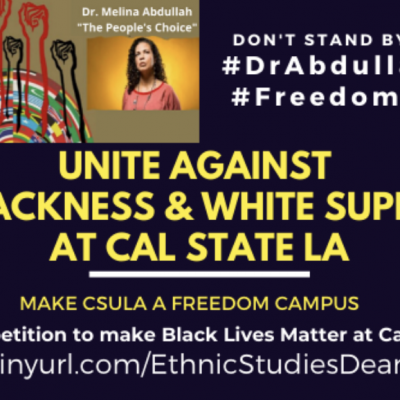 "'State of Emergency': BLM and CSULA Faculty Issue Demands to ""Eradicate Anti-Blackness"""