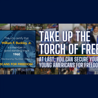 Young Americans For Freedom Launches Expanded Membership Program