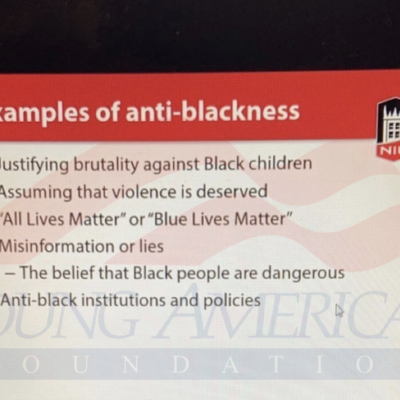 NIU Mandatory Diversity Training: Saying 'Blue Lives Matter' is 'Anti-Blackness'