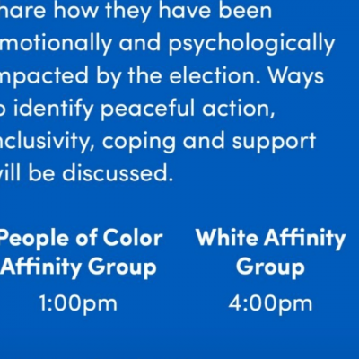 "University at Buffalo Hosts Segregated Election Day ""Listening Sessions"""