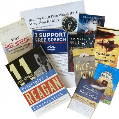 YAF Breaks Burbank Blockade Of Academic Freedom, Provides Banned Books To Students