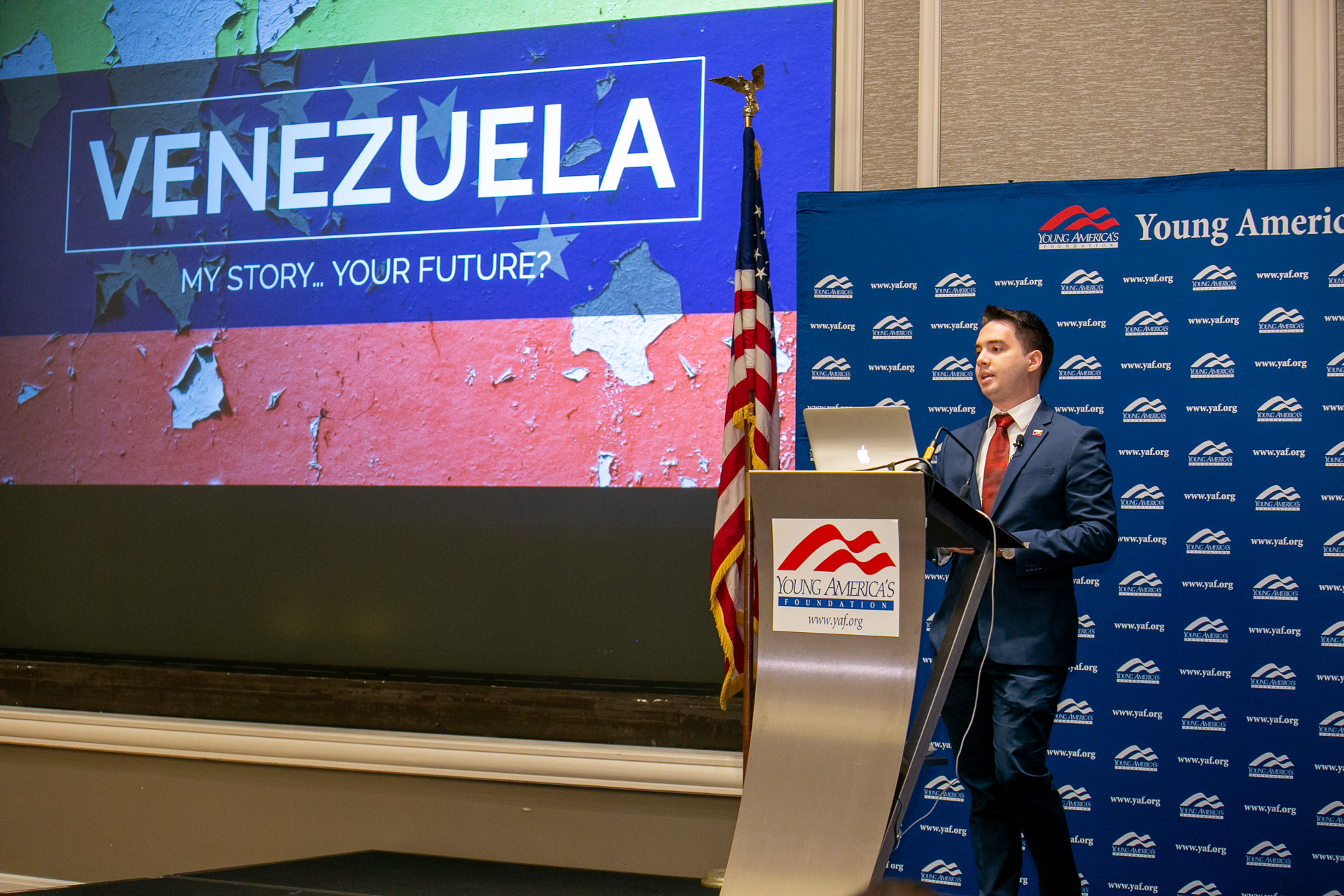 <h1><strong>How Socialism Failed Venezuela featuring Andres Guilarte At the High School Free Enterprise Leaders Conference</strong></h1>