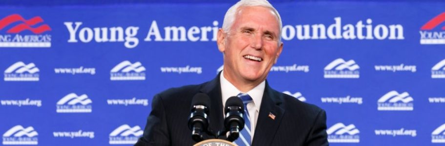 <h1><b>Longtime ally and the 48th Vice President of the United States, Mike Pence, joins the YAF team as Ronald Reagan Presidential Scholar</b></h1>