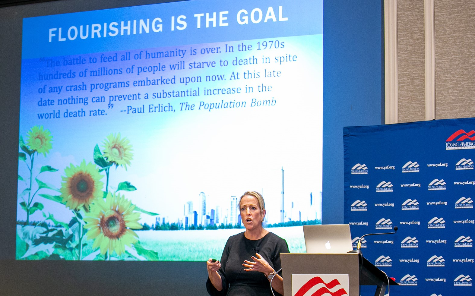 <h1><strong>How to Promote Human Flourishing featuring Dr. Anne Bradley at the Road to Freedom Seminar</strong></h1>