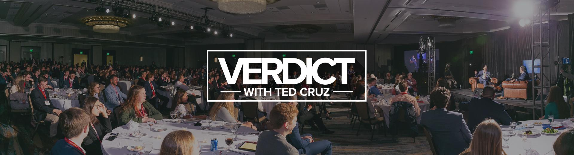Verdict header logo overlay