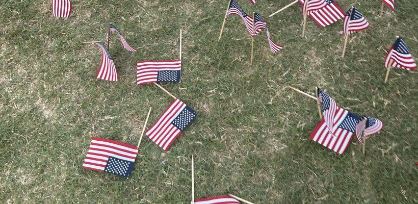 UVA Flag Display Vandalized on 20th Anniversary of 9/11