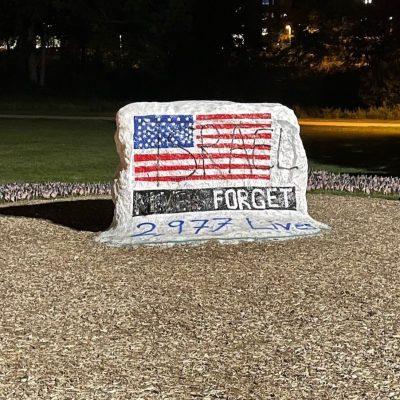 9/11 Memorial Vandalized at Michigan State