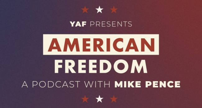 """<h1><b>Vice President Mike Pence Launches """"American Freedom"""" Podcast</b></h1>"""