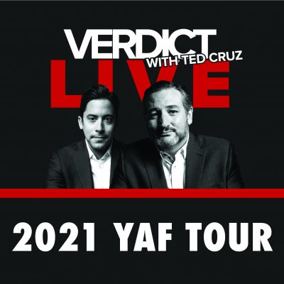 Verdict with Ted Cruz to Kick Off 2021 YAF Tour with Live Shows at UW-Madison and Texas A&M