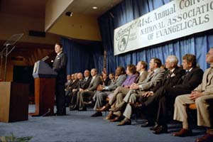 "Reagan gives his ""Evil Empire"" speech"